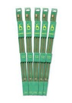 Pony Bamboo Straight Needles