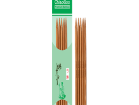 ChiaoGoo - Patina Bamboo Double Point Needle